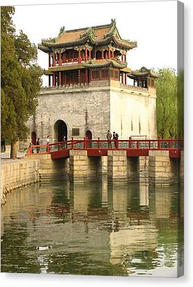 The Summer Palace Canvas Print by Richard Nowitz