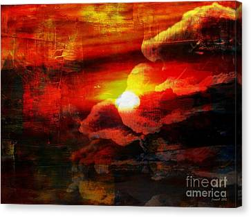 The Sunny Side Of Life Canvas Print by Fania Simon