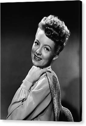 The Thrill Of Brazil, Evelyn Keyes, 1946 Canvas Print by Everett
