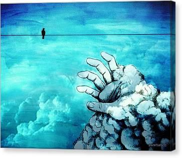 The Time Reveals Surprises Canvas Print by Paulo Zerbato