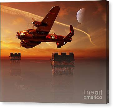 The Towers Canvas Print by Nigel Hatton