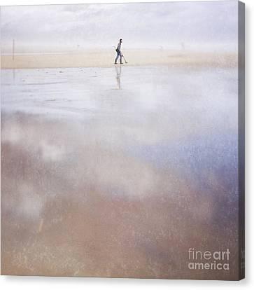 The Treasure Hunter Canvas Print by Paul Grand