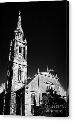 The Tron Church Edinburgh Scotland Uk United Kingdom Canvas Print by Joe Fox