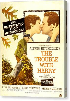 The Trouble With Harry, Shirley Canvas Print by Everett