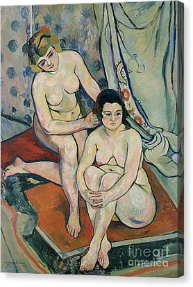 The Two Bathers Canvas Print by Marie Clementine Valadon
