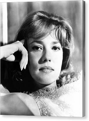 The Victors, Jeanne Moreau, 1963 Canvas Print by Everett