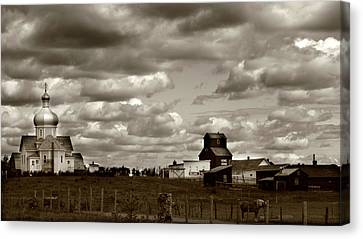 The Village Canvas Print by JC Photography and Art