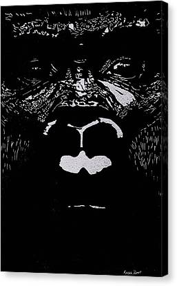 The Watcher Canvas Print by Jim Ross