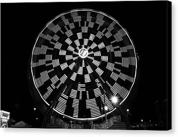 The Wheel That Ferris Built Canvas Print by David Lee Thompson