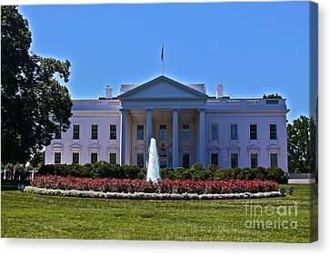 The White House - No. 0341  Canvas Print by Joe Finney