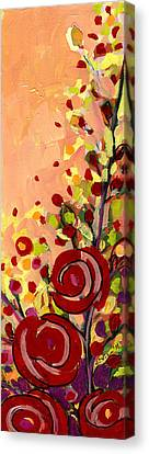 The Wild Roses Canvas Print by Jennifer Lommers