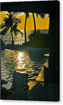 The Window To Fiji Canvas Print by Susan Wells