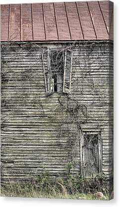 The Window Up Above Canvas Print by JC Findley