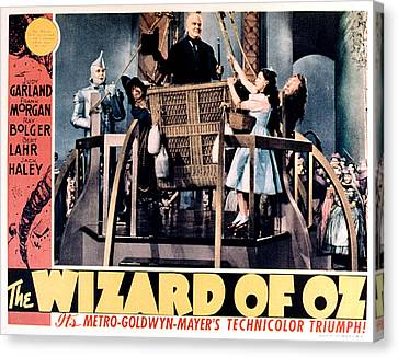 The Wizard Of Oz, Jack Haley, Ray Canvas Print by Everett