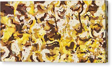 The Yellow Paintings Canvas Print by Odon Czintos