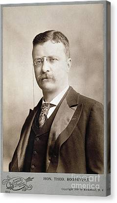 Thedore Roosevelt Canvas Print by Granger