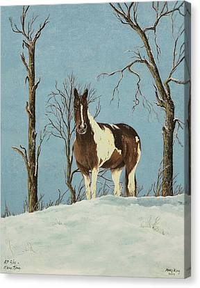 There Is A Season Canvas Print by Mary Ann King