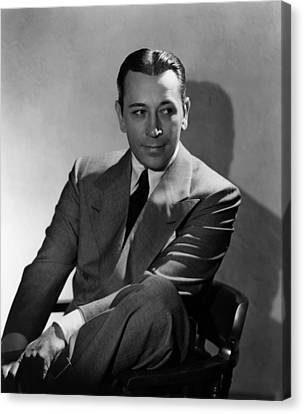 They Drive By Night, George Raft, 1940 Canvas Print by Everett