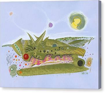 Thickworld Canvas Print by Ralf Schulze