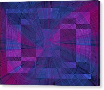 Think Canvas Print by Tim Allen