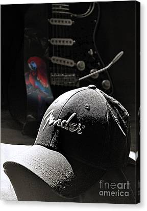 Thinking Cap Canvas Print by Everett Bowers