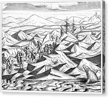 Third Barents Arctic Expedition, 1596 Canvas Print by Cci Archives