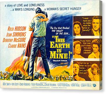 This Earth Is Mine, Dorothy Mcguire Canvas Print by Everett