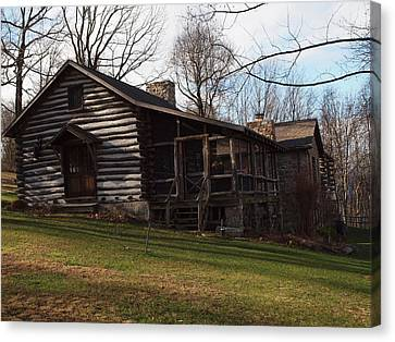 This Old Cabin Canvas Print by Robert Margetts