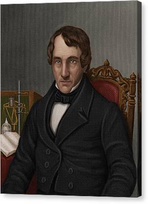 Thomas Thomson, Scottish Chemist Canvas Print by Maria Platt-evans