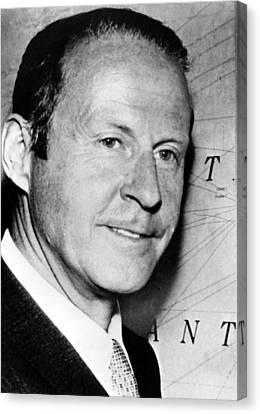 Thor Heyerdahl, Image Dated 072569 Canvas Print by Everett