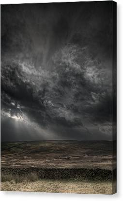 Threatening Skies Canvas Print by Andy Astbury