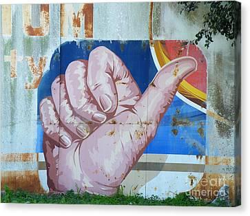 Thumbs Up Canvas Print by Joe Jake Pratt