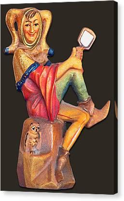 Till Eulenspiegel - The Merry Prankster Canvas Print by Christine Till