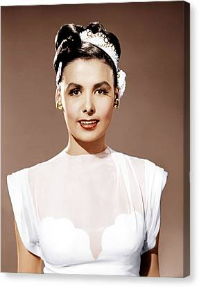 Till The Clouds Roll By, Lena Horne Canvas Print by Everett