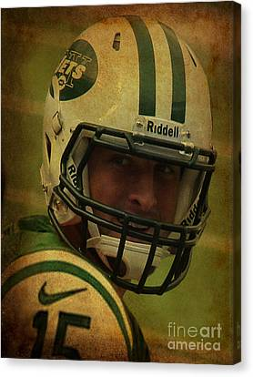 Tim Tebow - New York Jets - Timothy Richard Tebow Canvas Print by Lee Dos Santos