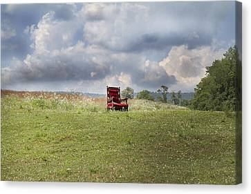 Time Alone Canvas Print by Betsy Knapp
