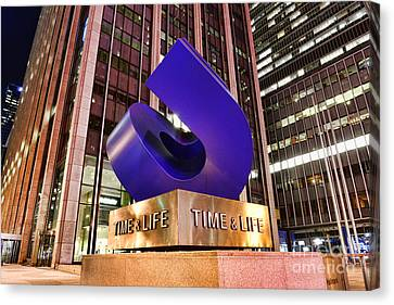 Time And Life Curved Cube Canvas Print by Paul Ward
