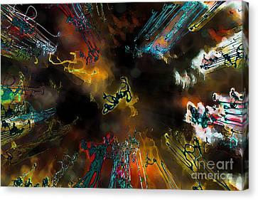 Time Flies Canvas Print by Jeff Breiman