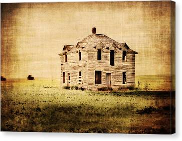 Time Forgotten Canvas Print by Julie Hamilton