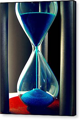 Time Makes Magic Canvas Print by Guadalupe Nicole Barrionuevo