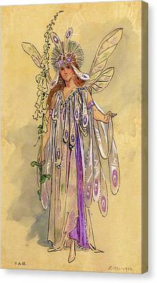 Titania Queen Of The Fairies A Midsummer Night's Dream Canvas Print by C Wilhelm