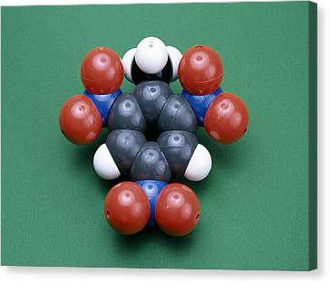 Tnt Molecule Canvas Print by Andrew Lambert Photography