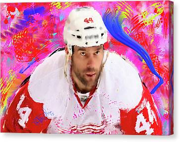 Todd Bertuzzi 3 Canvas Print by Donald Pavlica