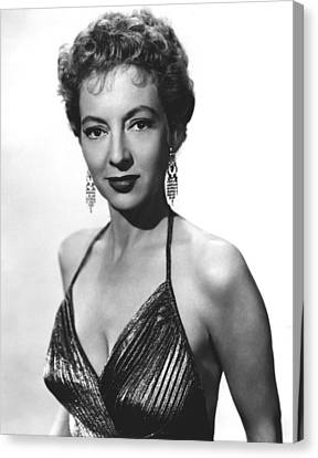 Top Of The World, Evelyn Keyes, 1955 Canvas Print by Everett