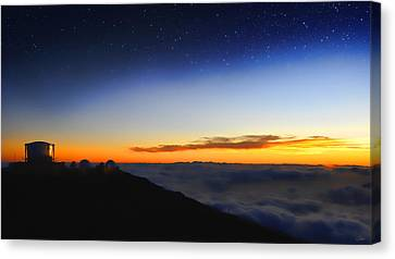 Top Of The World Canvas Print by Peter Chilelli