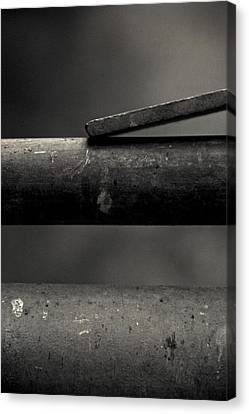 Touch Canvas Print by Odd Jeppesen