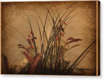 Touch Of Elegance Canvas Print by Sherri  Of Palm Springs