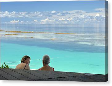 Tourism Canvas Print by Matthew Oldfield