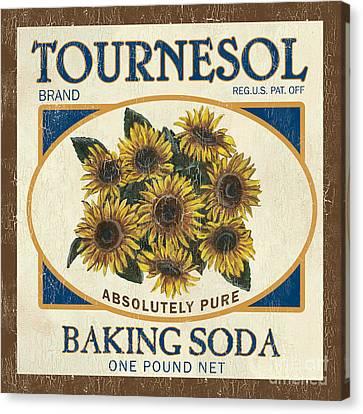 Tournesol Baking Soda Canvas Print by Debbie DeWitt
