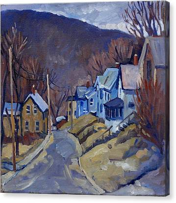 Toward Vermont  Canvas Print by Thor Wickstrom
